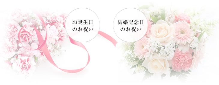 お誕生日・結婚記念日